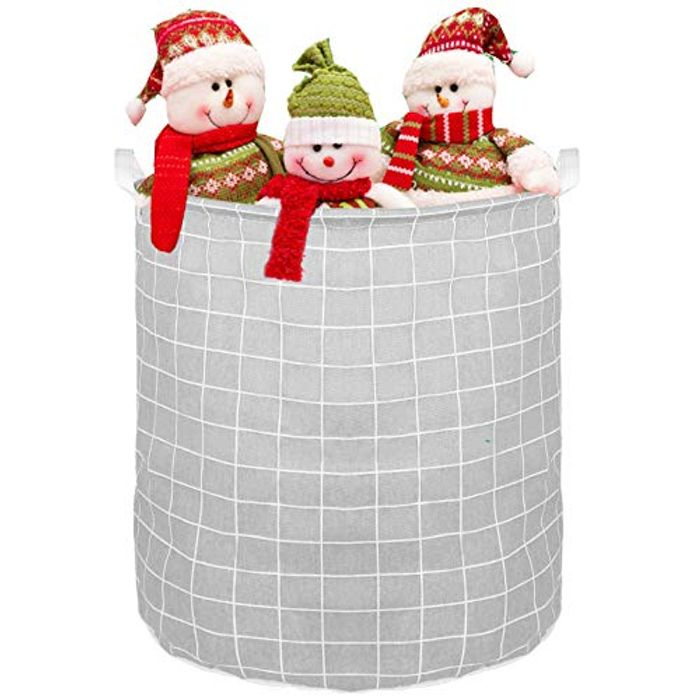 GAKOV Collapsible Washing Hamper Foldable Laundry Basket - Only £3.99!