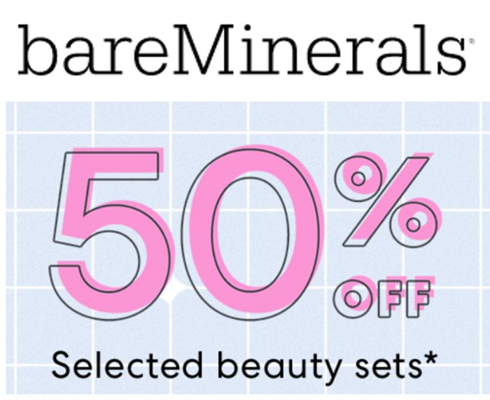 BARE Minerals SALE - 50% off Beauty Sets