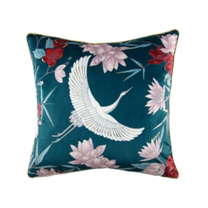 Oriental Stork Cushion