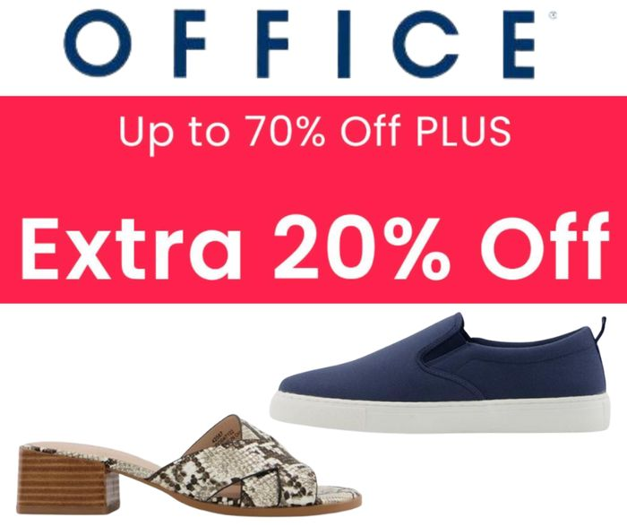 Office Shoes Sale - Now Up To 70% Off + Extra 20% Off