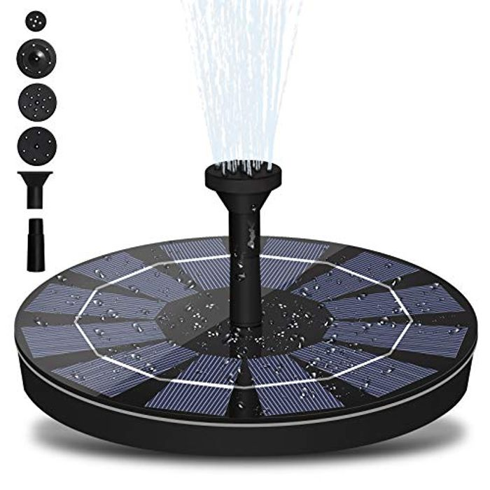 Save 60%! LEDGLE Solar Fountain Pump 1.4W