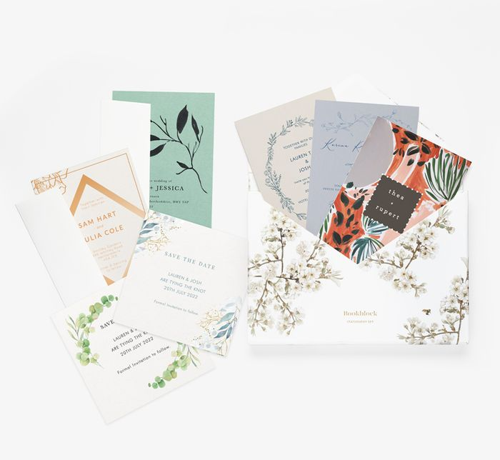 Free Wedding Stationery Sample Pack