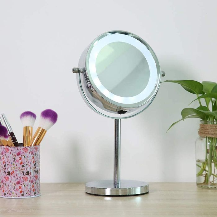 Best Ever Price! Double Sided Cosmetic Mirror, Lighted Makeup Mirror