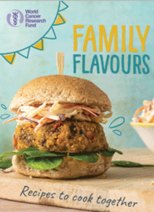 Free Family Flavours Cook Together Cookbook *Allow 3 Weeks For Delivery