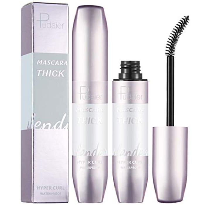 Mascara Black.Silk Fiber Lash Mascara Waterproof,Ultra-Long,