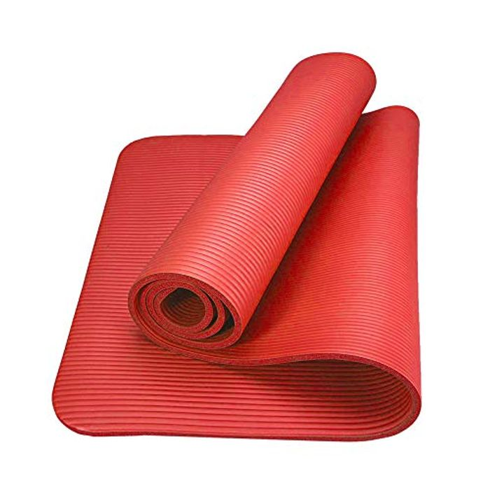 NBR 10mm Non-Slip Yoga Mat (Also available in purple)