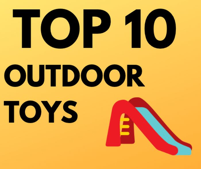 Special Offer! Top 10 Cheap Outdoor Toys under £35