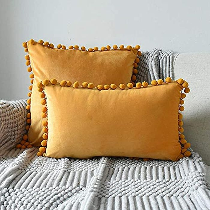 INMOZATA 2 Pieces Cushion Pads with Cushion Cover - Only £3.50!