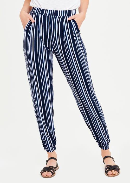 Stripe Harem Trousers