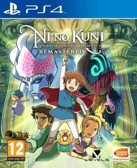 PS4 Ni No Kuni Wrath of the White Witch Remastered £9.95 at TGC
