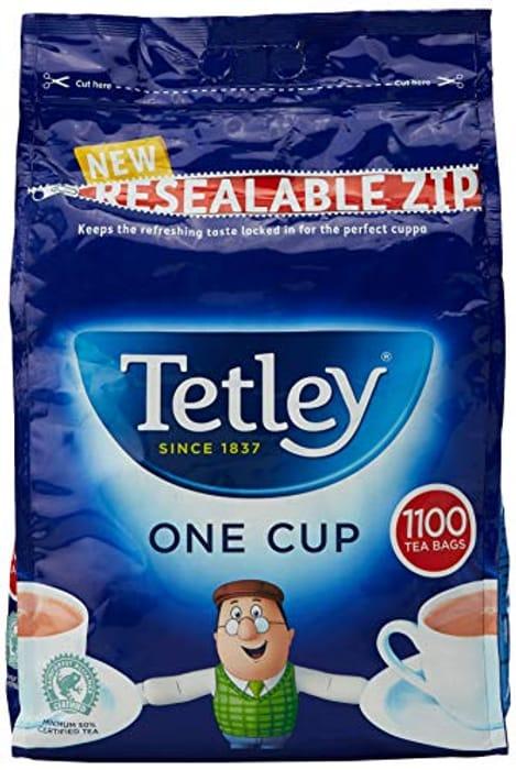 Tetley Tea Bags (Pack of 1100)