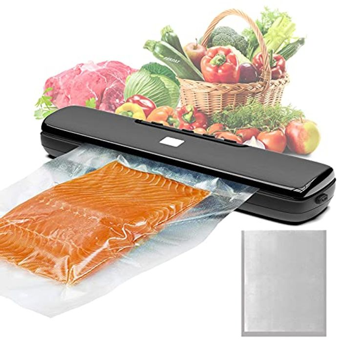 Vacuum Sealer with Dry & Moist Mode for Food Preservation, 15Pcs - Only £7.49!