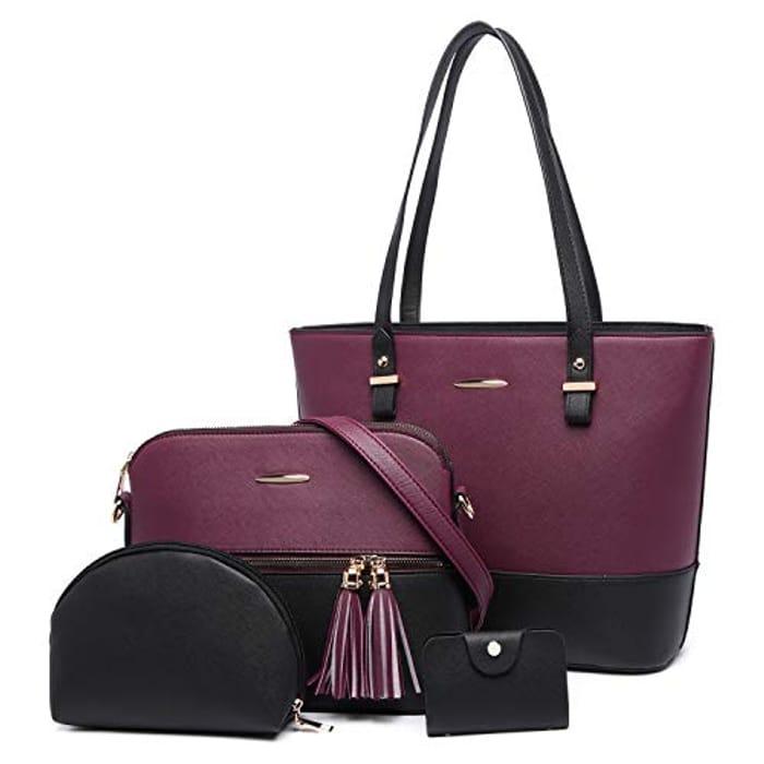 4pcs Handbag Set (Various Options)