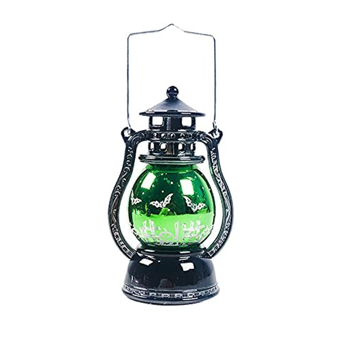 Vintage Hanging Lantern with Realistic Dancing Flame LED Night Lights, 3 Options