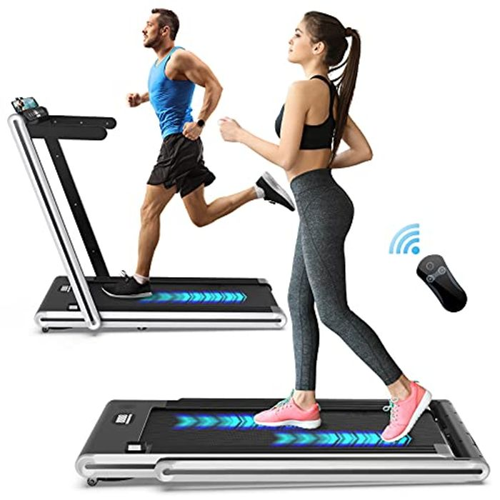 2-in-1 Folding Treadmill Only £174.99 with Free Delivery