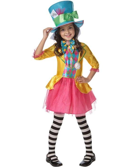 CHEAP! Disney Alice in Wonderland Mad Hatter Girl - Child & Teen Costume