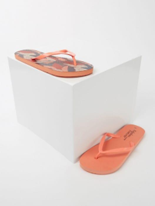 Flip Flops 2 Pairs Pack ( Orange Pk or Blue Pk ) = £1 Per Pair !