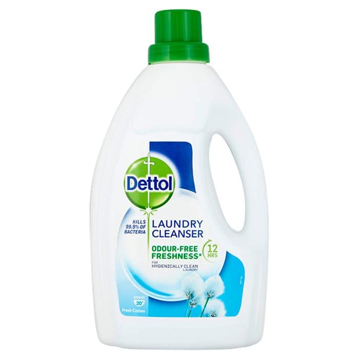 Dettol Antibacterial Laundry Cleanser Cotton 1.5 L