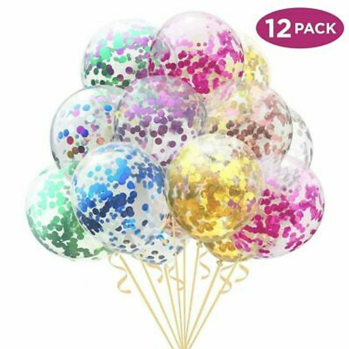 Cheap 12 Pack Confetti Balloons - Only £2.29!