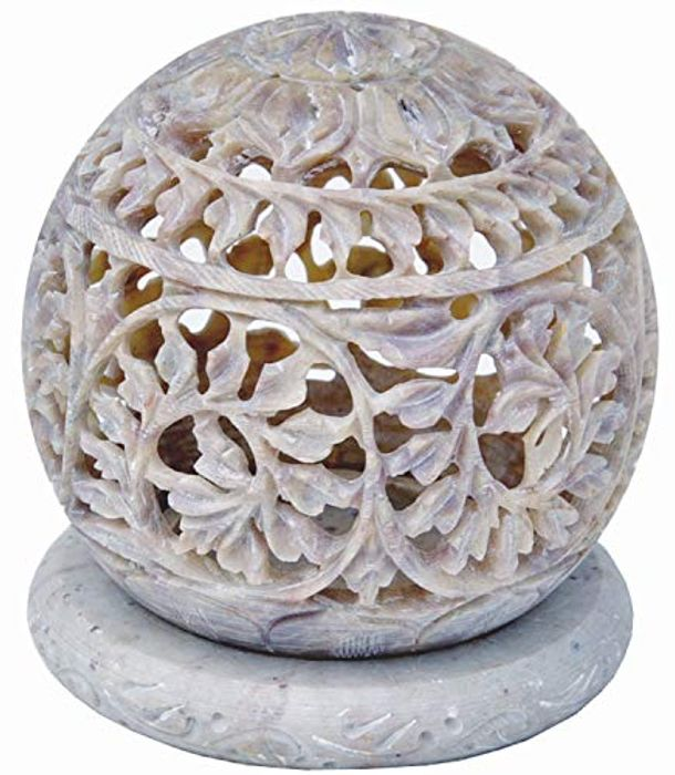 Tealight Candle Holder with Flowers Jali