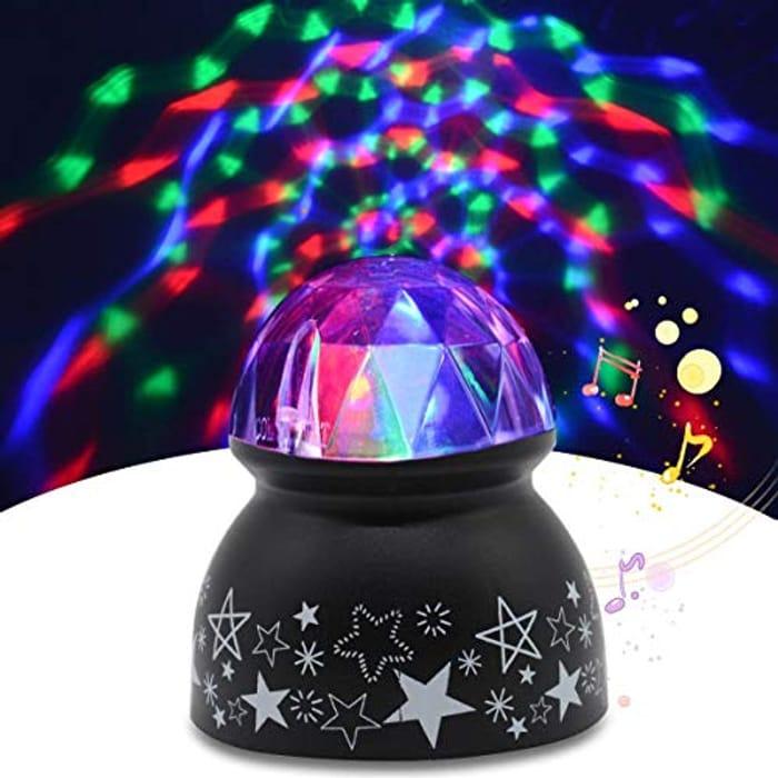 Yocuby Sound Activated Disco Light Ball
