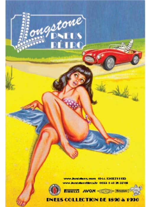 Free Vintage Car Poster