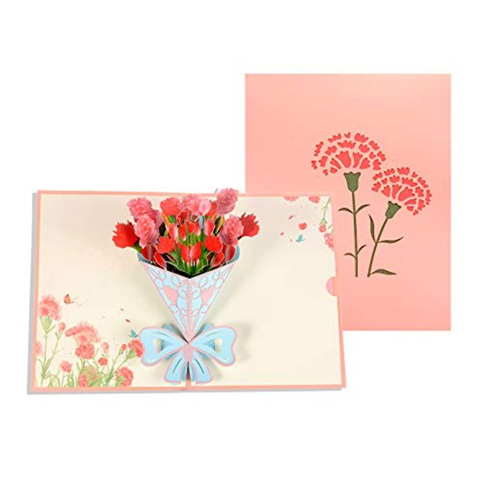 3D Pop up Greetings Card with Envelope (Various Options)