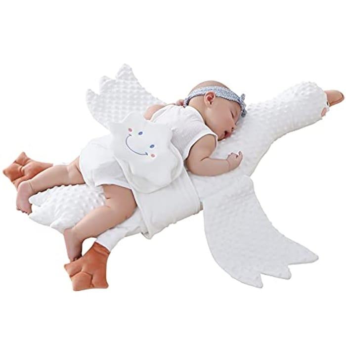 Ilody White Goose Stuffed Animal