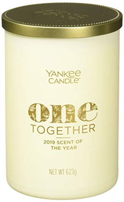 Yankee Candle One Together Candle in Glass, White, Large