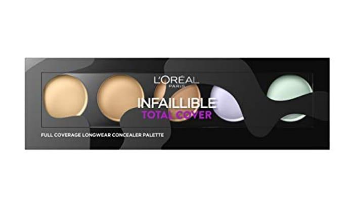 L'Oral Infallible Total Cover Concealer Palette