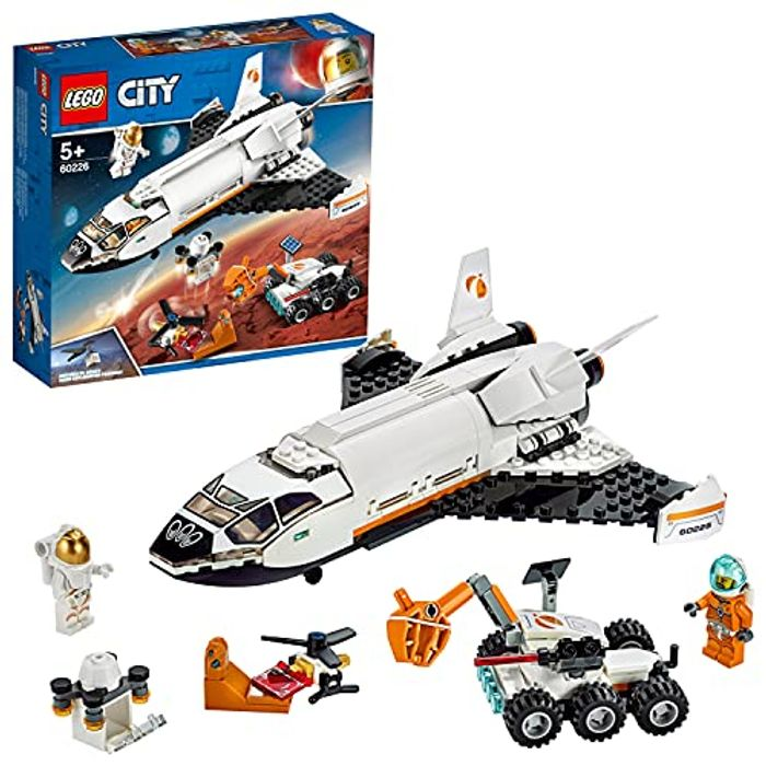 SAVE £7 - LEGO CITY - Mars Research Shuttle Spaceship (60226)