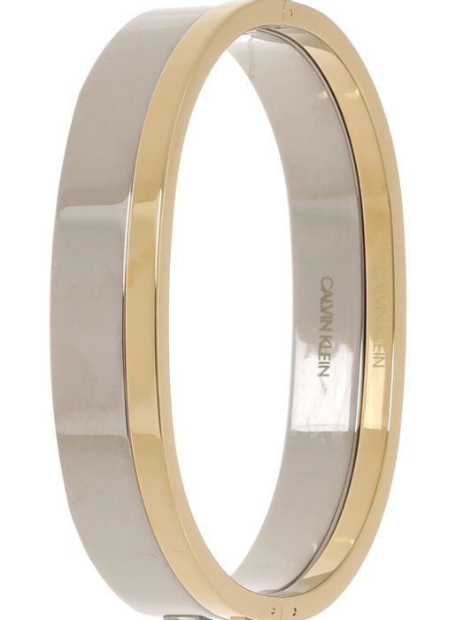 CALVIN KLEIN Two Pack Silver & Gold Tone Bangles