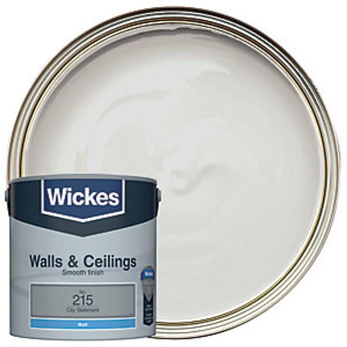 Wickes City Statement - No.215 Vinyl Matt Emulsion Paint - 2.5L