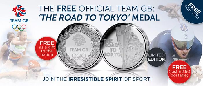 Free Official Team GB Coin