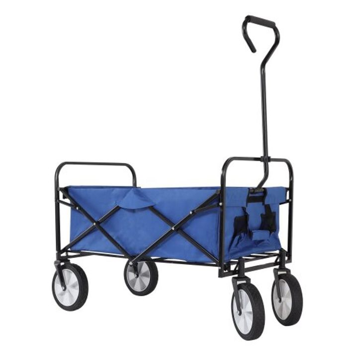 Pull-along Folding Garden Cart /Trolley/ Festival/ Camping - 3 Colours Available