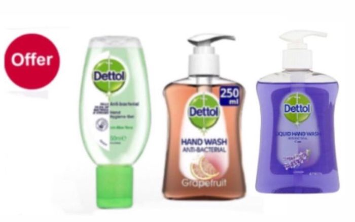 Save 25 Percent on Selected Dettol Hand wash,£1.12 & Aloe Vera Hand Gel £1.35