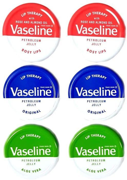 Vaseline Lip Balms (Pack of 6) + Free Delivery