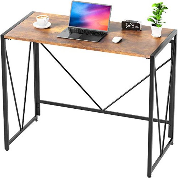 NOBLEWELL Easily Assembled Folding Solid Sturdy Computer Desk - Only £18.00!