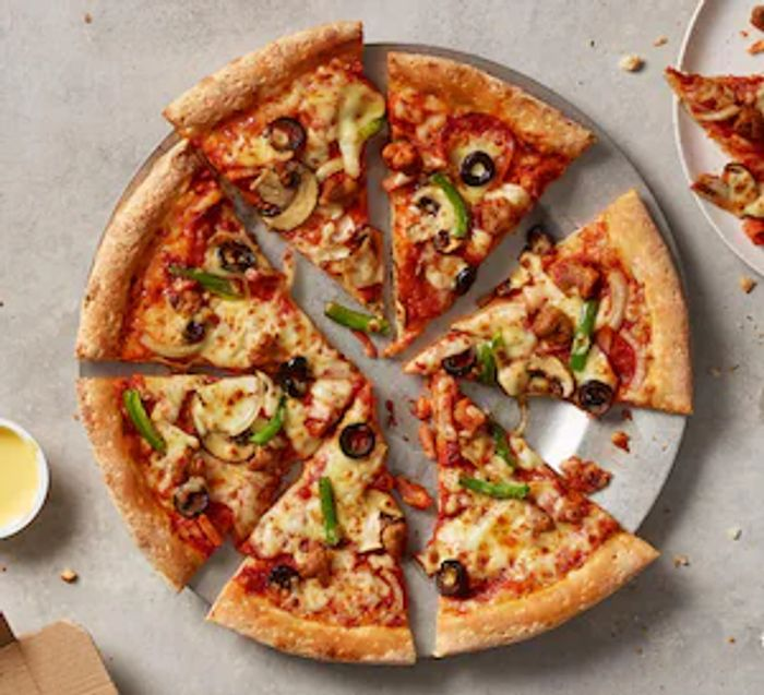 Papa John's 2 Large Pizzas & 2 Toppings Only £9.99 (29 Locations)