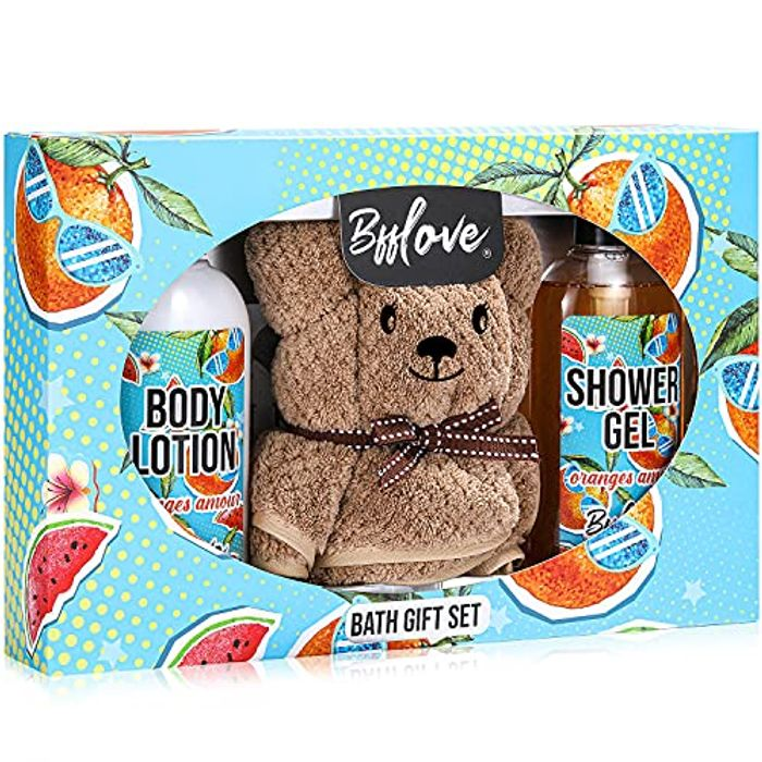 Sweet Orange Scent Bath and Body Sets, Gifts for Women - Only £5.99!