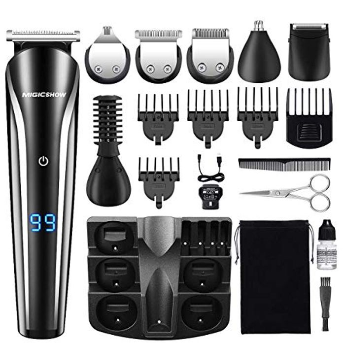 MIGICSHOW 11-in-1 Rechargeable Cordless Hair Cippers