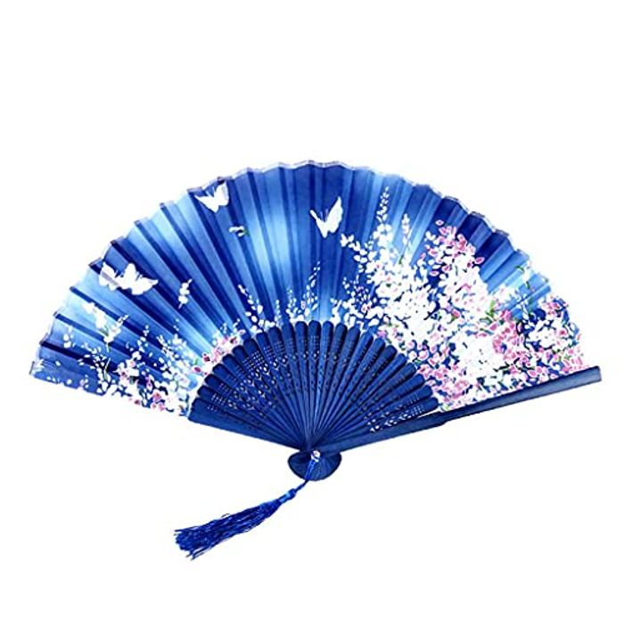 Folding Fans, Handheld Fans, Chinese Style Hand Fans - Only £3.99!