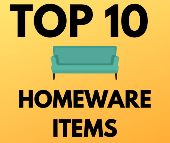 Top 10 Cheap Homeware Items Under £30 - Starting From £6