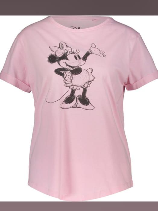 DISNEY Pink Cartoon Mouse T Shirt