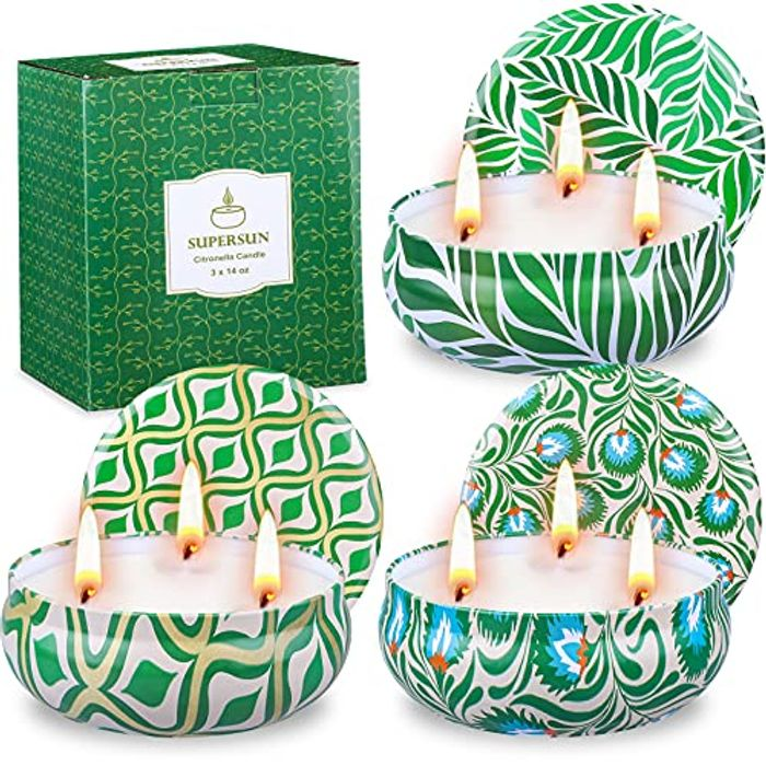 Candles in a Tin X3 Down From £23.99 to £9.80