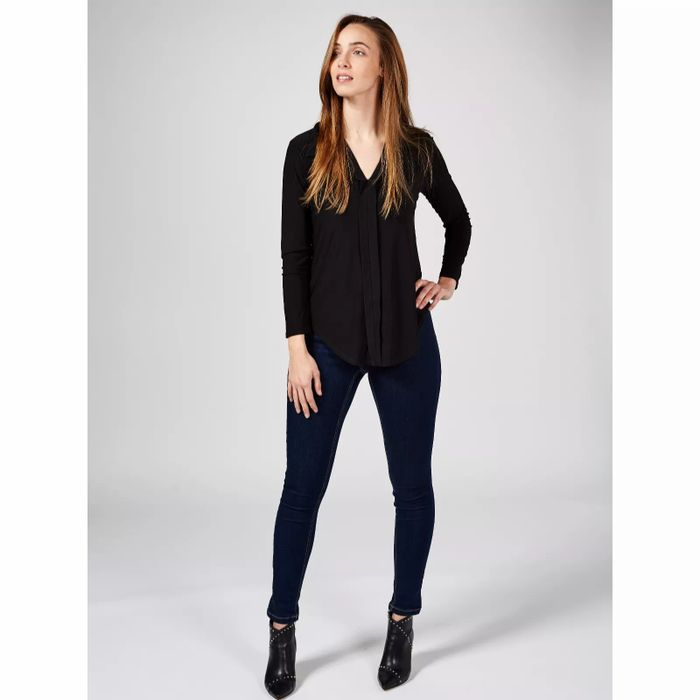 Antthony Designs Long Sleeve Tunic with Collar