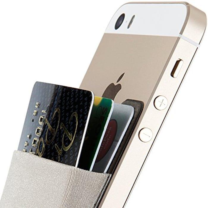 DEAL STACK - Sinjimoru Sticky Wallet Card Holder for Back of Phone + 15% Coupon