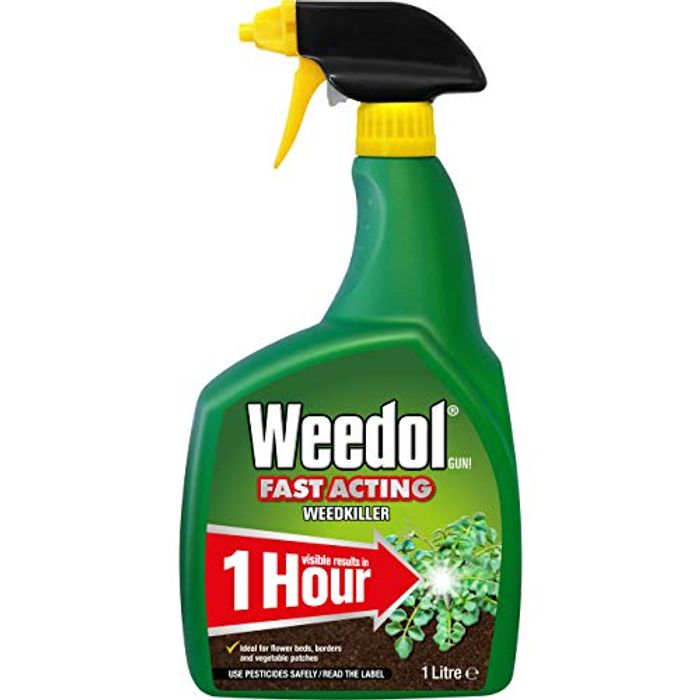 Weedol Fast Acting Weedkiller, 1 Litre Spray Gun ( Min order Quantity of 2)