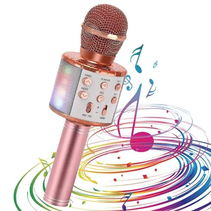 Bluetooth Karaoke Microphone