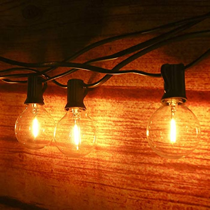 Outdoor String Lights Mains Powered 39FT